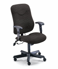 Executive Comfort Posture Chair in Gray - Mayline Office Furniture - 9414AG2110