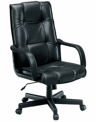 Executive Conference Chair (Hi-back, Leather) - OFM - 520-L