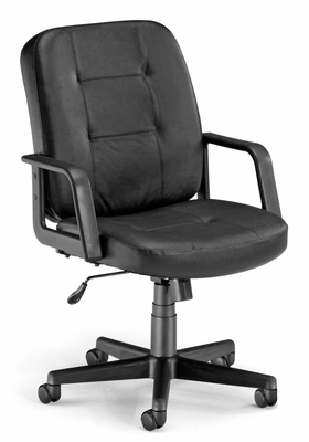 Executive Conference Chair (Low-Back, Leather) - OFM - 505-L