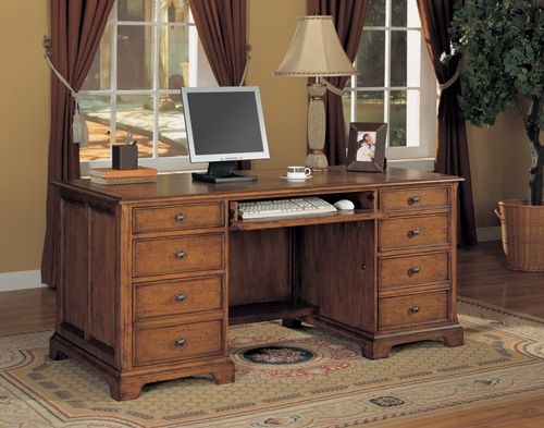 Executive Desk - Executive Office Furniture / Home Office Furniture - 1231-34
