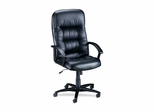 Executive Hi-Back Chair - Black Lthr - LLR60116