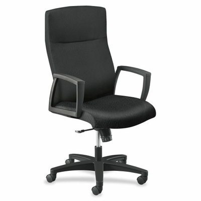 Executive High-back Chair - Black/Black - HON5062HTTNT10