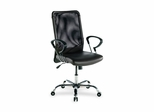 Executive High-Back Chair - Black Lthr - LLR86203