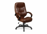 Executive High-Back Chair - Brown/Black - LLR63282