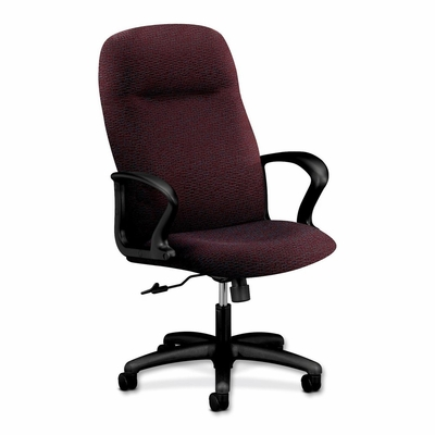 Executive High Back Chair - Claret - HON2071BW69T