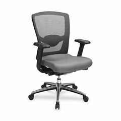 Executive High Back Chair - Gray - LLR60539