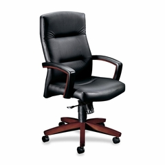 Executive High-Back Chair - Mahogany - HON5001NSS11
