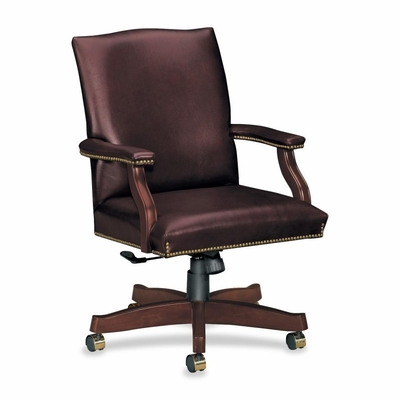 Executive High Back Chair - Mahogany - HON6571NSL62
