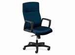 Executive High-back Chair - Mariner Blue/Black - HON5062HTTNT90