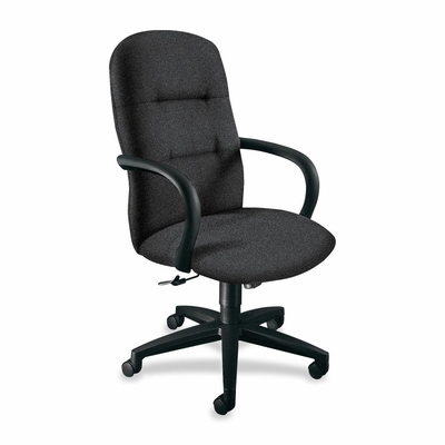 Executive High-Back Chair - Raven/Black Frame - HON3301BE11T