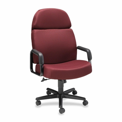Executive High-Back Chair - Wine - HON3501NT69T