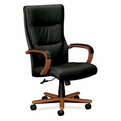 Executive High-Back Lthr Chair - Bourbon CY - BSXVL844HSP11