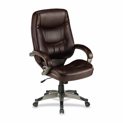 Executive High-BackChair - Leather Saddle - LLR63280