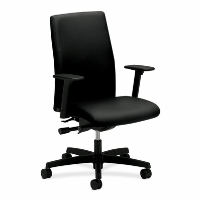 Executive Mid-Back Chairs - Black - HONIWM3AHUNT10T
