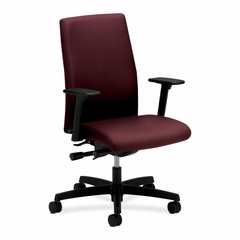 Executive Mid-Back Chairs - Wine - HONIWM3AHUNT69T
