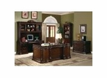 Executive Office Collection in Rich Brown - Coaster