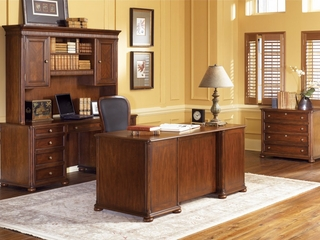 Executive Office in Ginger Cherry Package 1