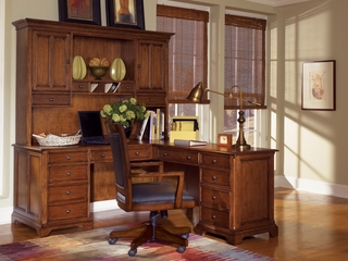 Executive Office in Toasted Oak Package 4