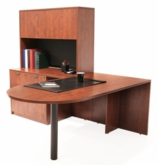 Executive Office Set 10 - Legacy Laminate - LGC-OPKG-10