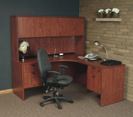 Executive Office Set 3 - Legacy Laminate - LGC-OPKG-3