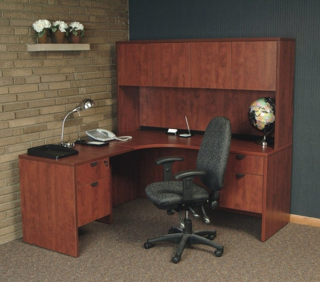 Executive Office Set 4 - Legacy Laminate - LGC-OPKG-4