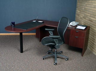 Executive Office Set 7 - Legacy Laminate - LGC-OPKG-7