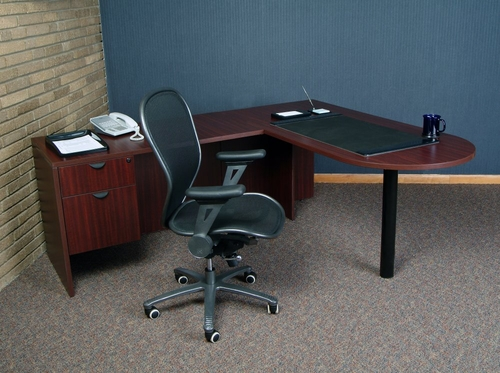 Executive Office Set 8 - Legacy Laminate - LGC-OPKG-8