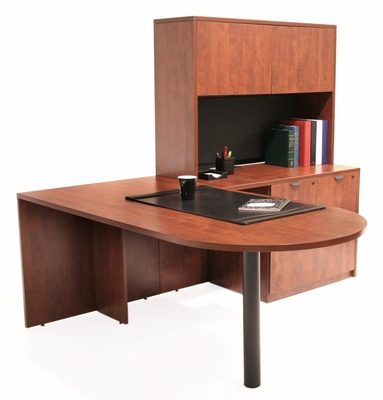 Executive Office Set 9 - Legacy Laminate - LGC-OPKG-9