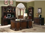 Executive Office Set in Rich Brown - Coaster