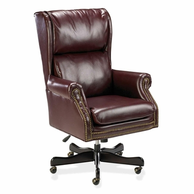 Executive Swivel Chair - Burgundy - LLR60602