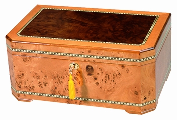 Exotica Collection The Cambria Desktop Humidor - HUM-100CJ