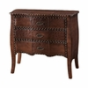 Expedition Chestnut 3 Drawer Bombe Chest - Powell Furniture - POWELL-491-254