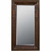 Expedition Chestnut Leaning Floor Mirror - Powell Furniture - POWELL-491-231