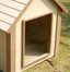 Extra Large Size Dog House Flap Door in Clear - NewAgeGarden - DOOR001XL