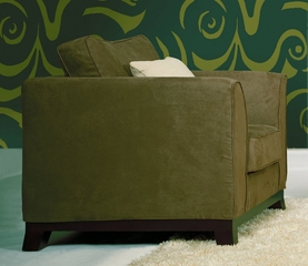 Fabric Chair in Olive Green - TD3105-KF-01-CHAIR