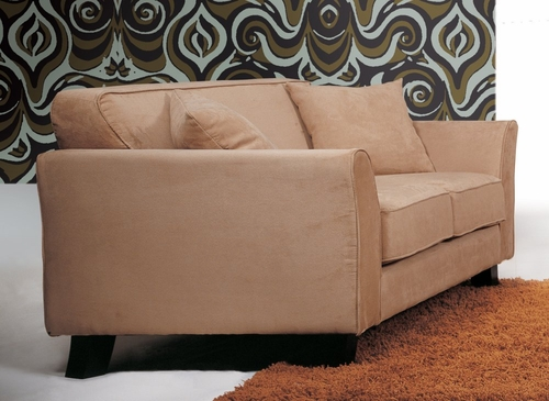 Fabric Loveseat in Beige - TD6826-KF-6-LOVESEAT