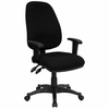 Fabric Office Chair - Ergonomic Computer Chair - BT-661-BK-GG