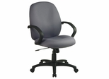 Fabric Office Chair - Executive Mid Back Managers Chair - Office Star - EX2651