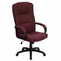 Fabric Office Chair - High Back Contemporary Executive Swivel Chair - BT-9022-BY-GG