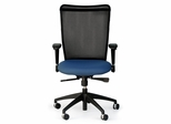 Fabric Office Chair with Mesh Back - C-Rite 2007 HD Desk Chair - Standard Systems Seating - 2007HD