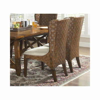 Fairwinds Woven Side Chair - Set of 2 - Largo - LARGO-ST-D2239-248