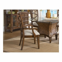 Fairwinds X-Back Arm Chair - Set of 2 - Largo - LARGO-ST-D2239-242