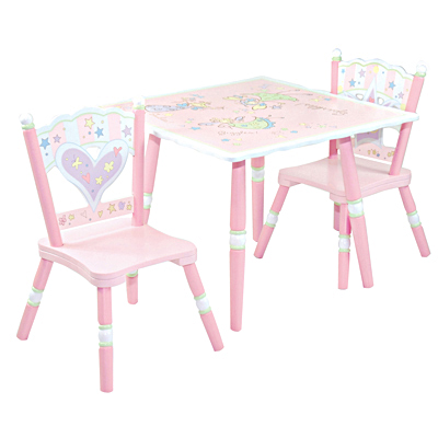 Fairy Wishes Chair and Table Set - LOD61002