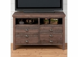 "Falmouth Weathered Grey 42"" TV Stand - 067-42"