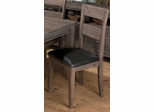 Falmouth Weathered Grey Slat Back Side Chair - Set of 2 - 534-184KD