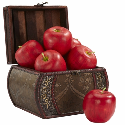 Faux Apple (Set of 6) - Nearly Natural - 2139