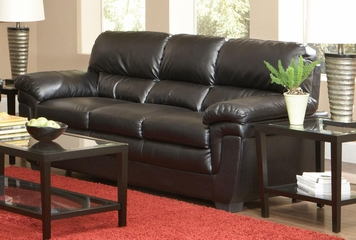 Fenmore Black Split Back Sofa - 502951