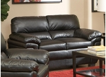 Fenmore Black Ultra Plush Loveseat - 502952