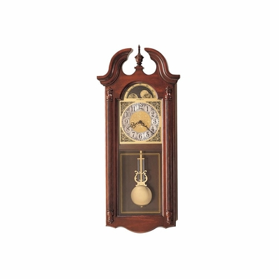 Fenwick Windsor Cherry Wall Clock - Howard Miller