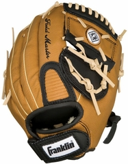 "Field Master Series 11"" Regular Baseball Glove Tan / Black / Almond - Franklin Sports"